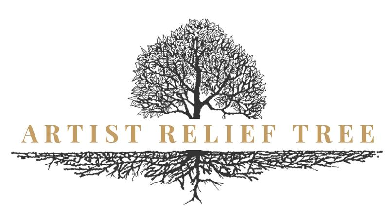 The Artist Relief Tree logo