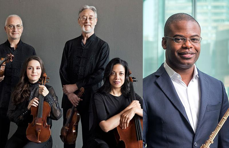 Juilliard String Quartet: flutist Demarre McGill