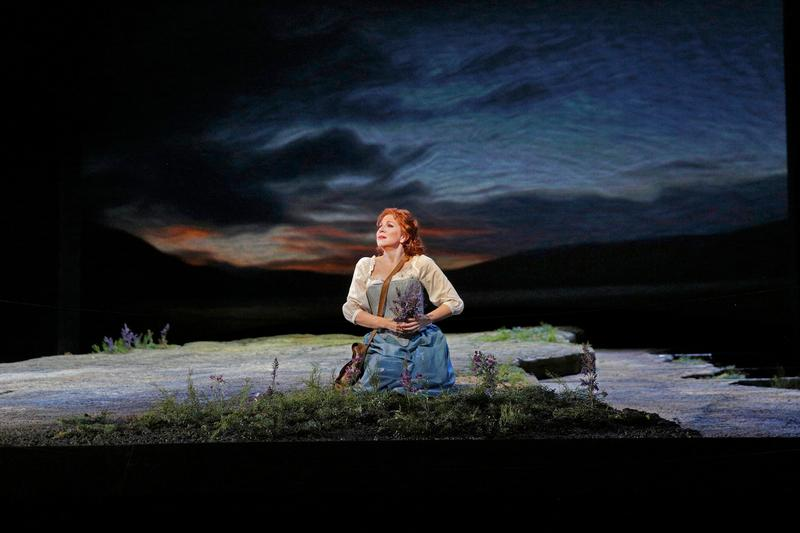 """Joyce DiDonato as Elena in Rossini's """"La Donna del Lago."""""""