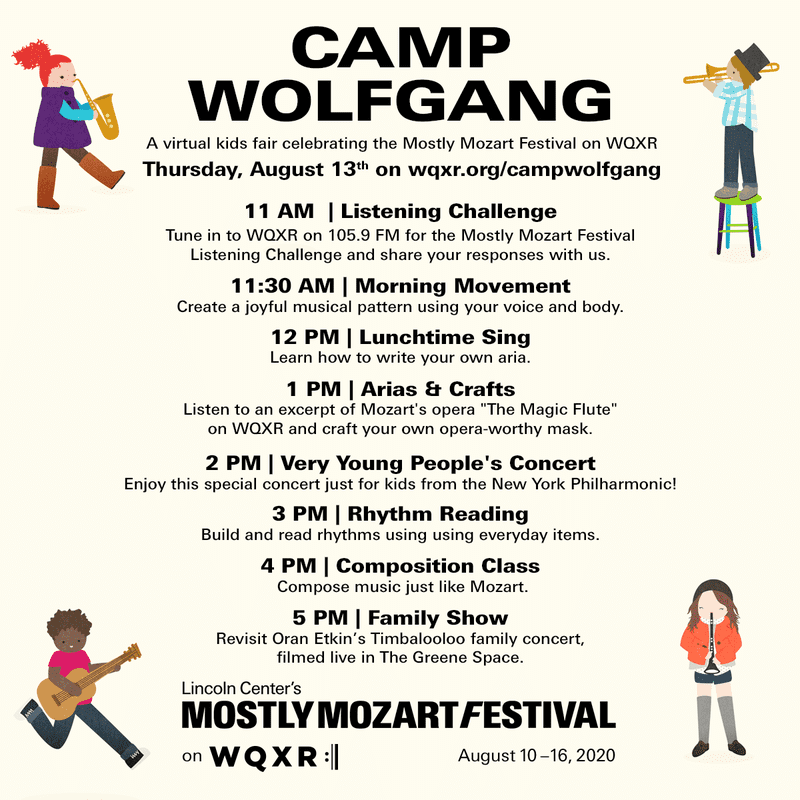 Camp Wolfgang Schedule