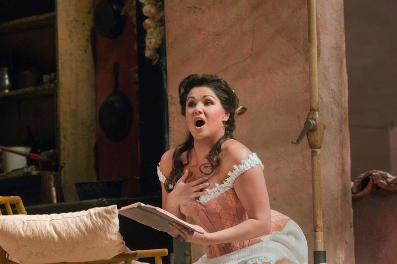 "Anna Netrebko as Norina in Donizetti's ""Don Pasquale."""