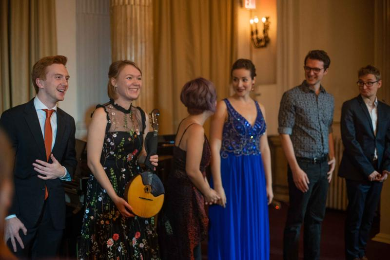 The winners of the 2019 Astral Artists National Competition take a curtain call.
