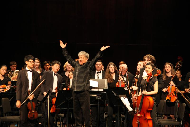 The Children's Orchestra Society of New York with Conductor Michael Dadap