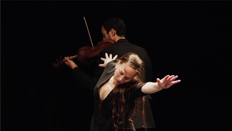 Bobbi Jene Smith, dancer & Keir GoGwilt, violin