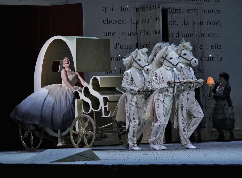 Joyce DiDonato in the title role of Massenet's Cendrillon