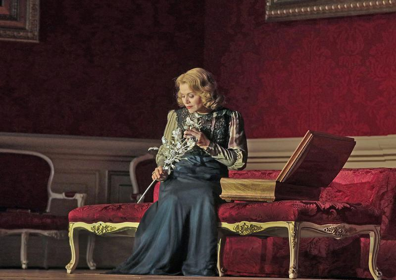 Renée Fleming as the Marschallin in Strauss's Der Rosenkavalier.