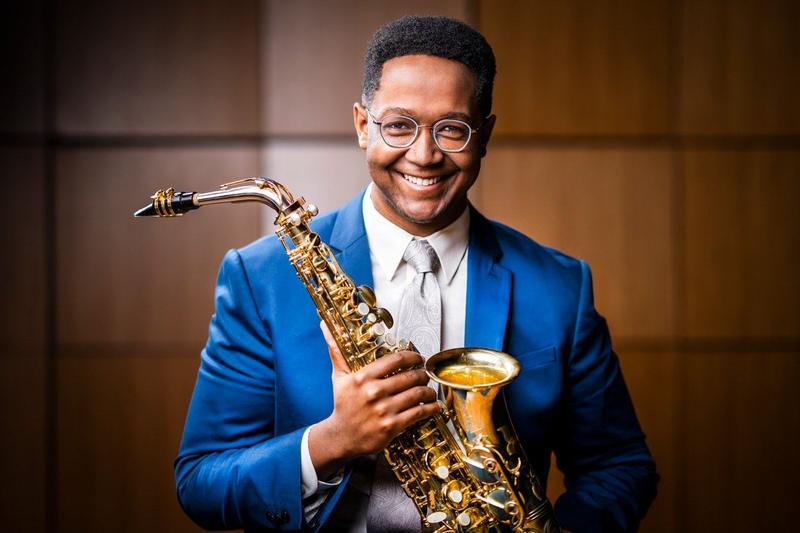 Saxophonist Steven Banks