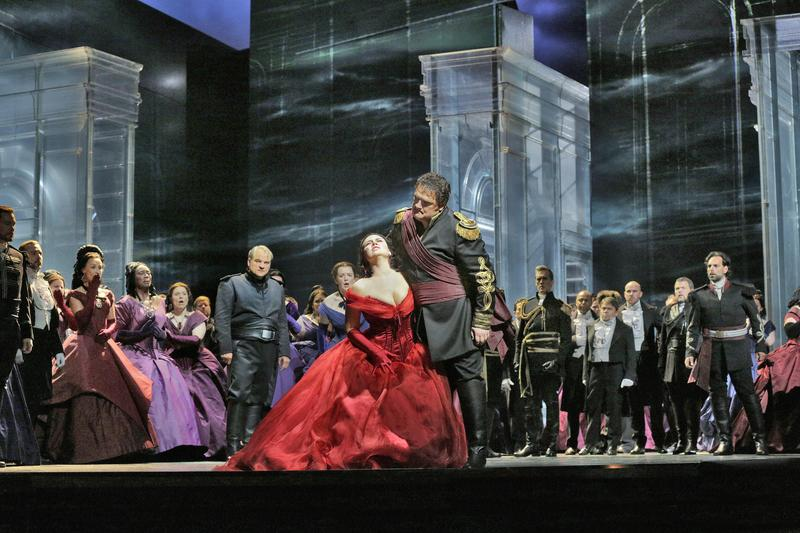 "Aleksandrs Antonenko in the title role and Sonya Yoncheva as Desdemona in Verdi's ""Otello""."