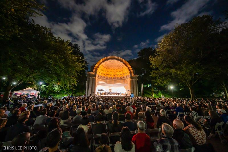 The Five Browns at the Naumburg Bandshell, September 28, 2021