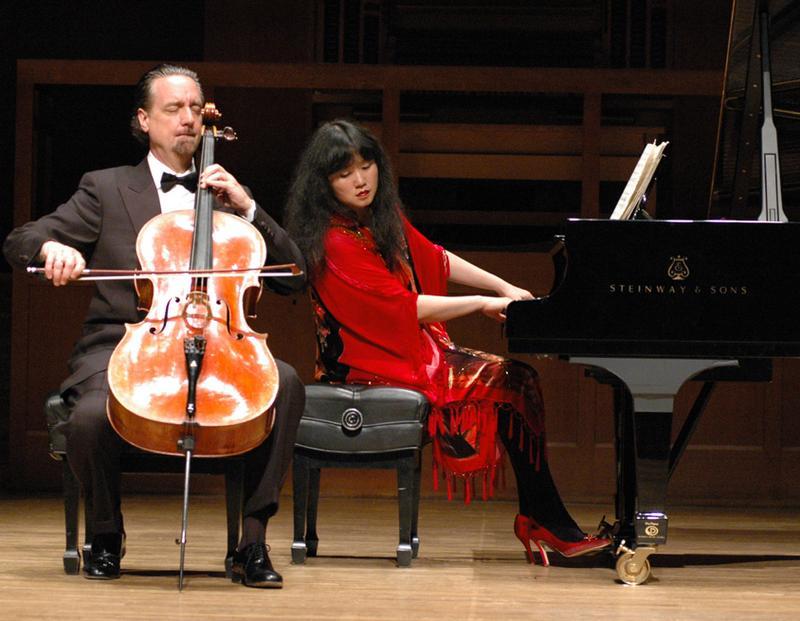 Cellist David Finckel and pianist Wu Han