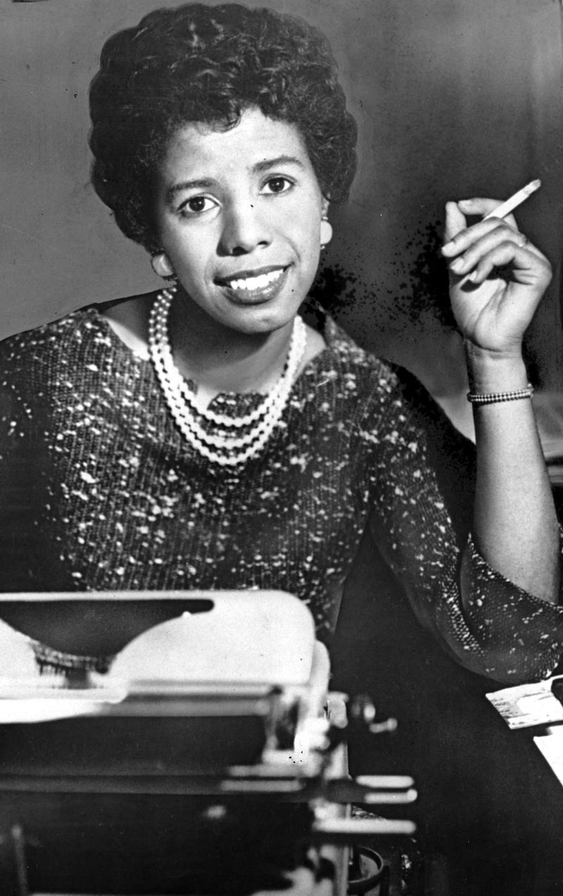 Lorraine hansberry the nypr archive collections wnyc lorraine hansberry 28 year old playwright who won the drama critics award biocorpaavc
