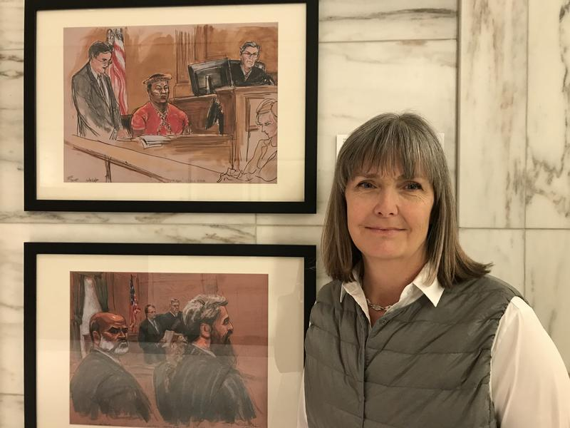 The Women Who Sketch Justice at Work | WNYC News | WNYC