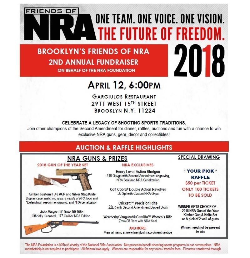 NRA Raffles Guns City Officials Fire Back WNYC New York Public