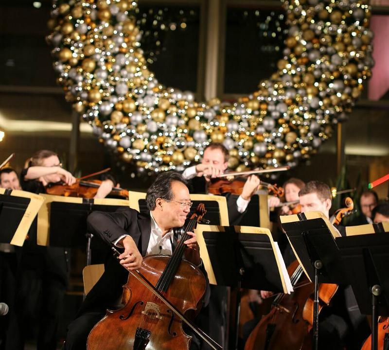 Watch: Cellist Yo-Yo Ma Performs at Boston Memorial Service   WQXR
