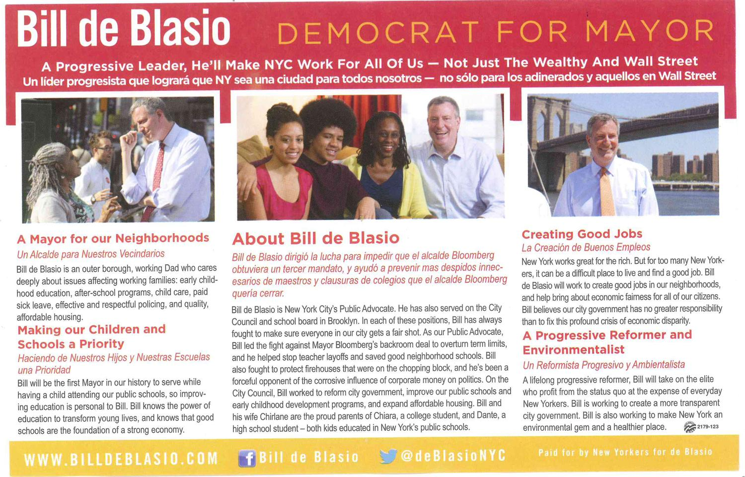 an art director s critique of campaign mailers wnyc news wnyc anything that will get voters online where the campaign can hit them multiple messages is a success that is if they don t dump the mailers in the