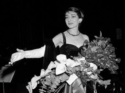 Maria Callas On Stage In the past, there were some