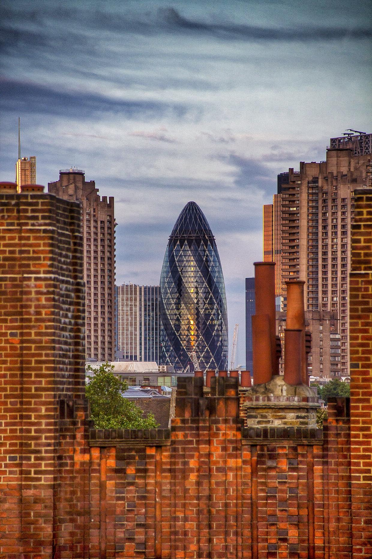 London's Gherkin Building