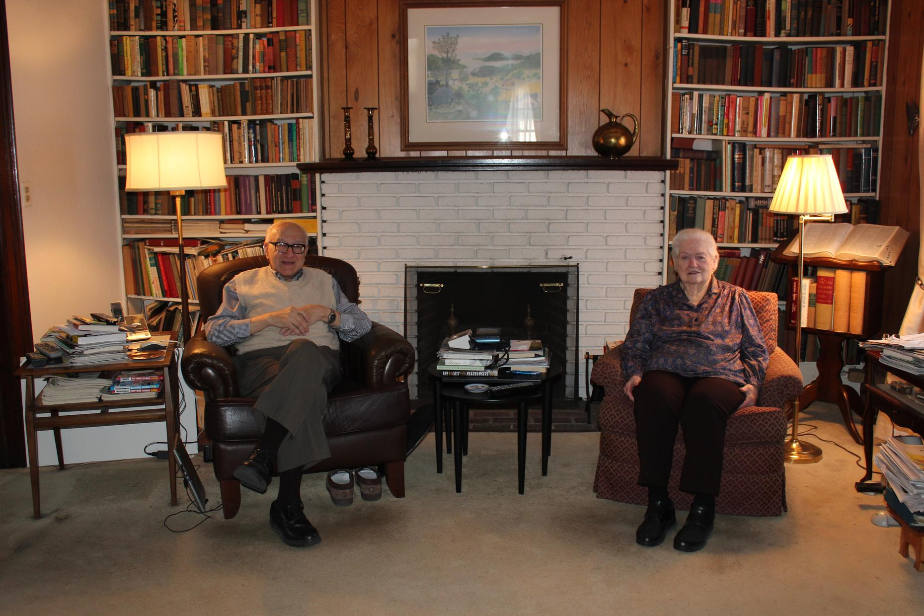 Carol and Murray Berger have lived in their home in Kew Gardens, Queens since 1957.