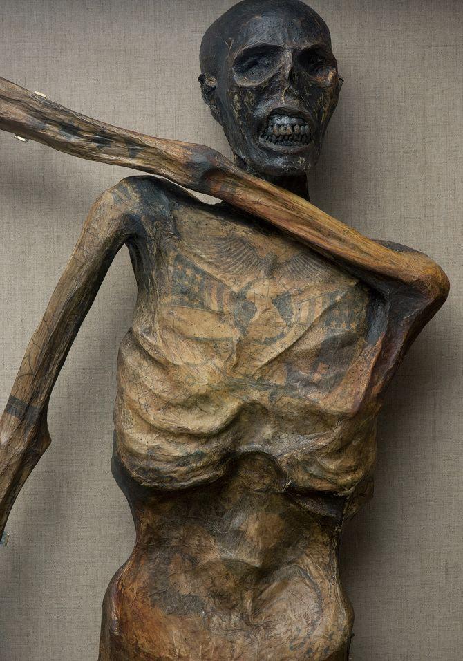 The Mummy Tattoo Design
