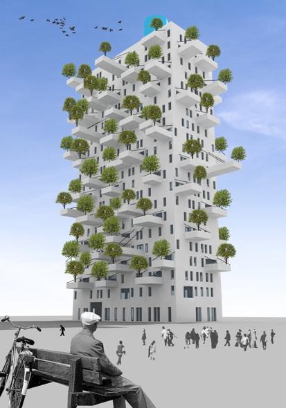 MVRDV's Torre Huerta