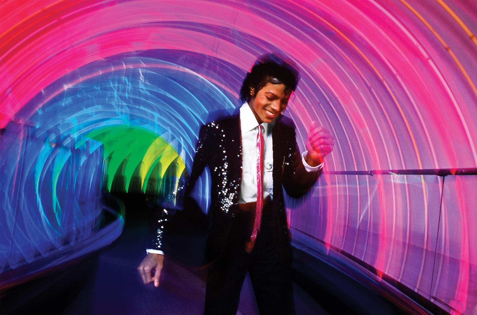 Michael Jackson photographed by Lynn Goldsmith at Disney World, 1984