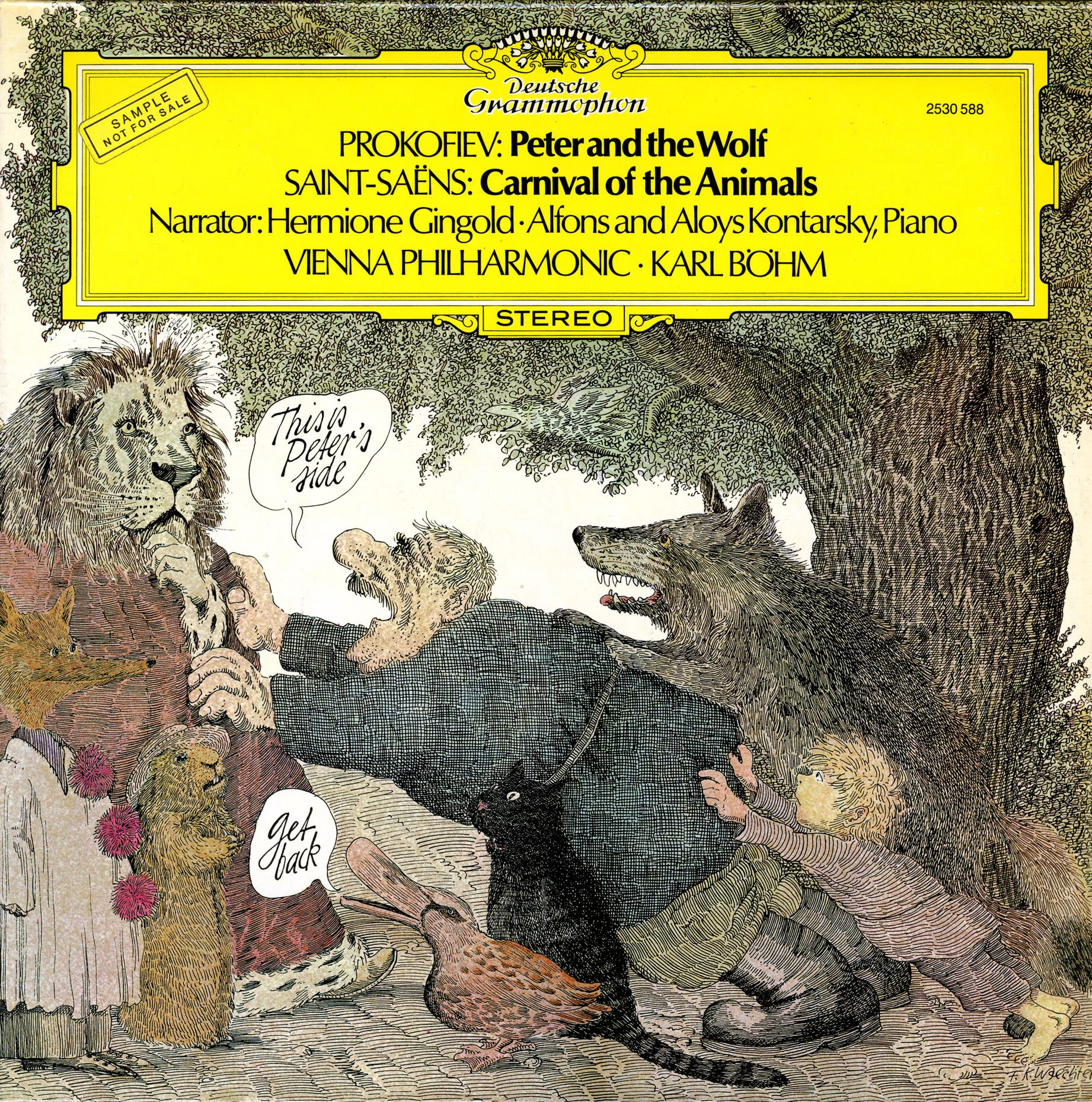 Beautiful and Disturbing 'Peter and the Wolf' Album Covers - NYPR Archives & Preservation - WNYC