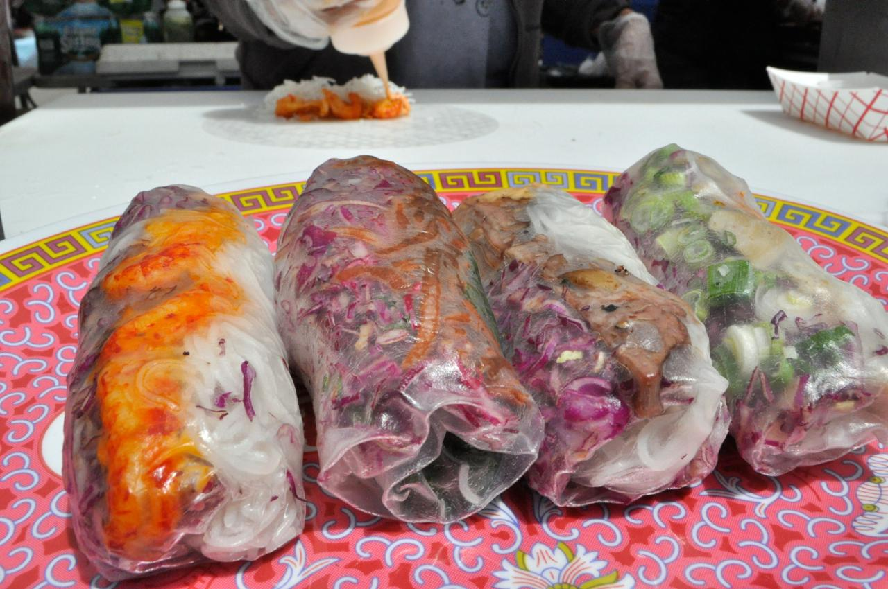 "Vietnamese ""Summer Rolls"" from Best Summer at Smorgasburg in Brooklyn Bridge Park."