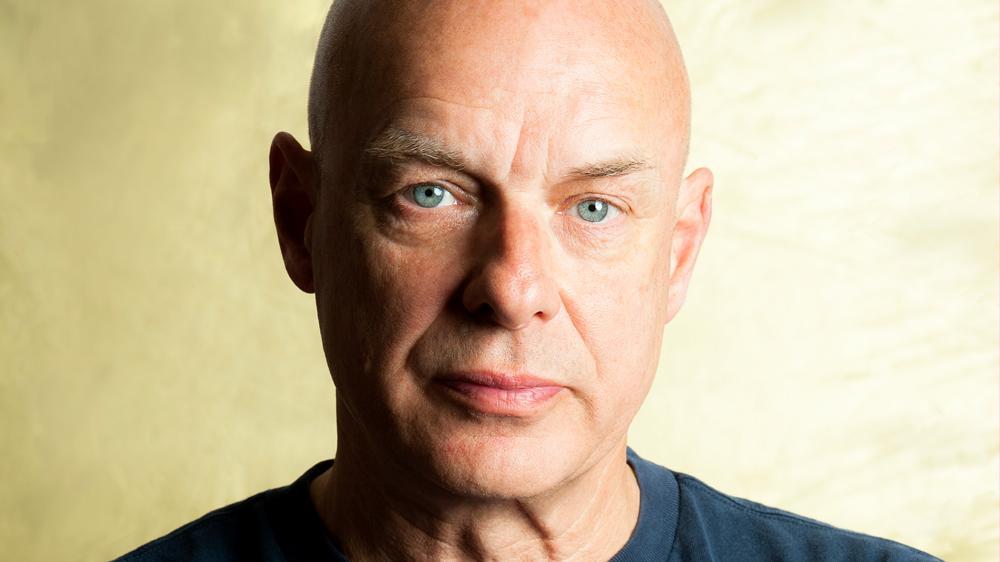 Brian Eno. (Photo credit: Michiko Nakao/courtesy of the artist)