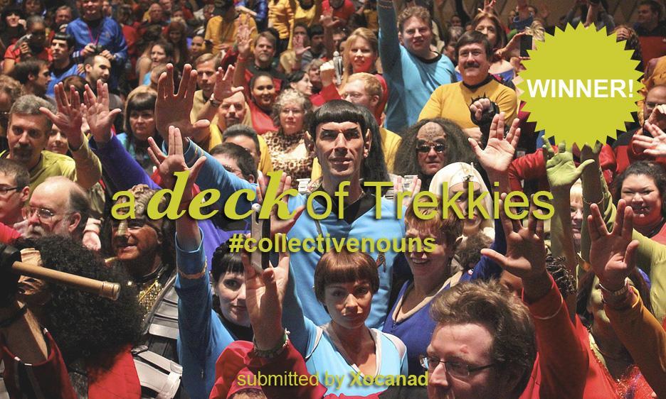 A deck of Trekkies