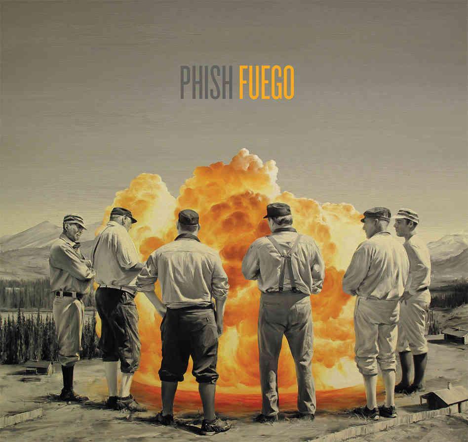 Phish's twelfth album, 'Fuego,' is out June 23.
