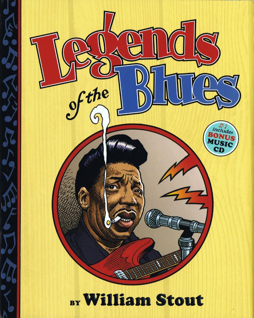Legends Of The Blues by William Stout.