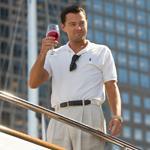 Leonardo DiCaprio in The Wolf of Wall Street (Mary Cybulski)