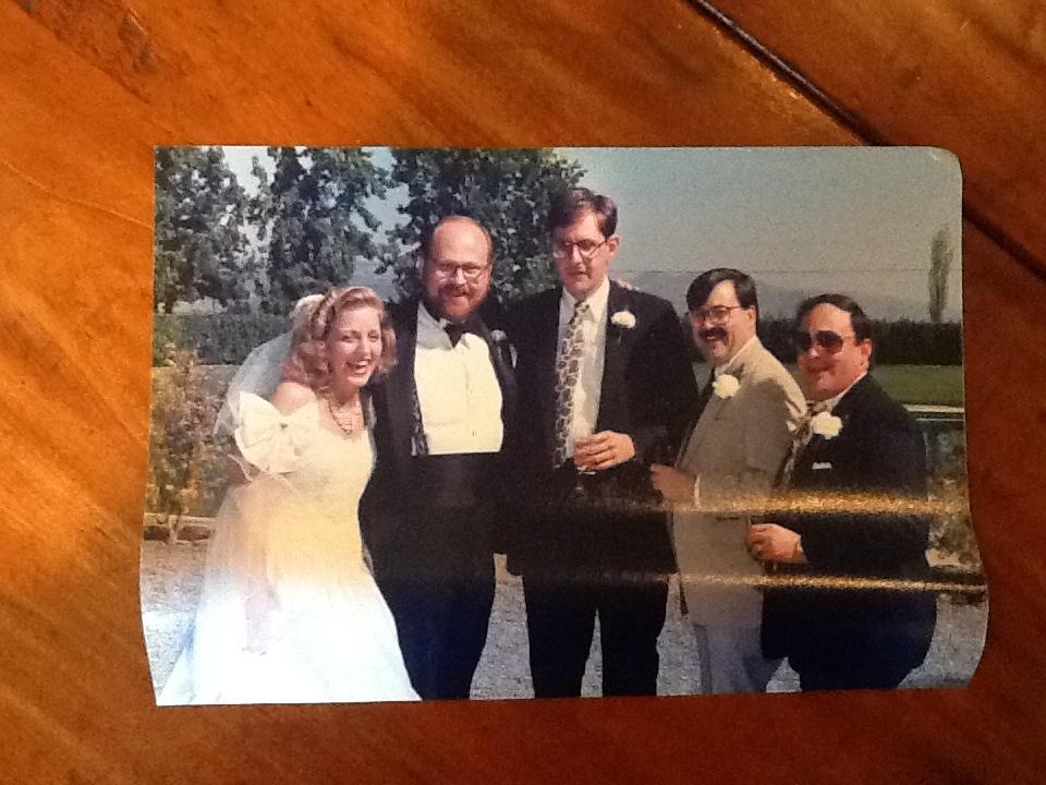 Joe Lhota at his 1988 wedding