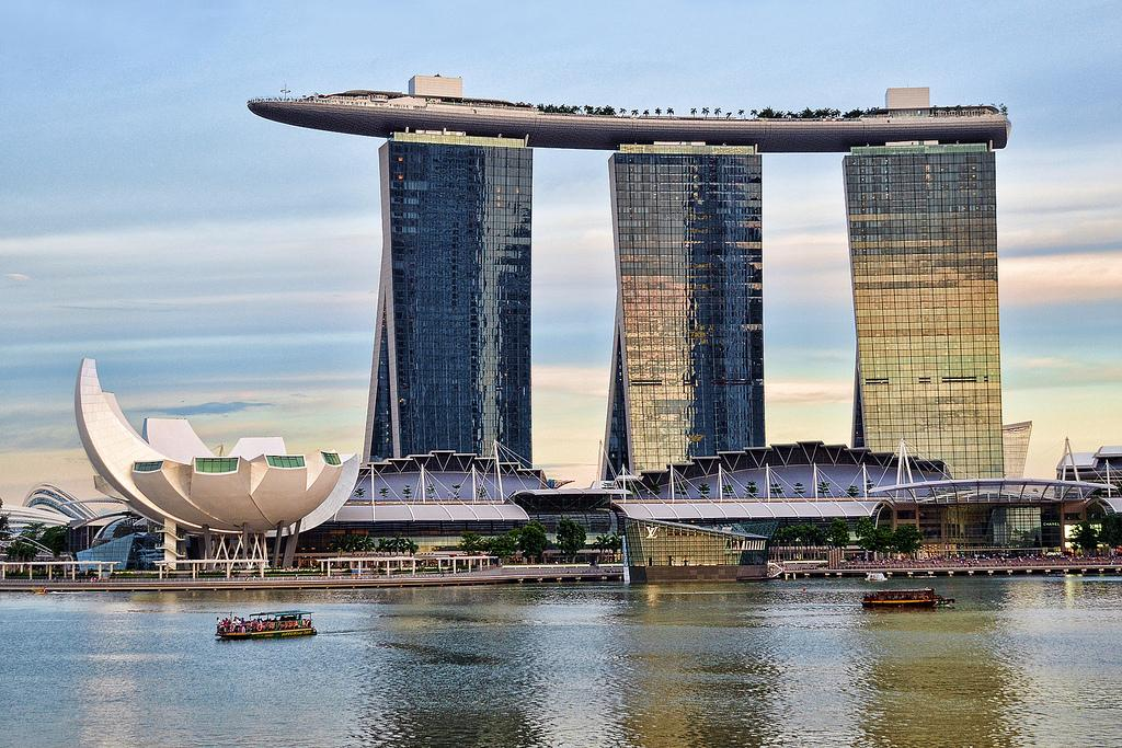 Singapore's Marina Sands Casino