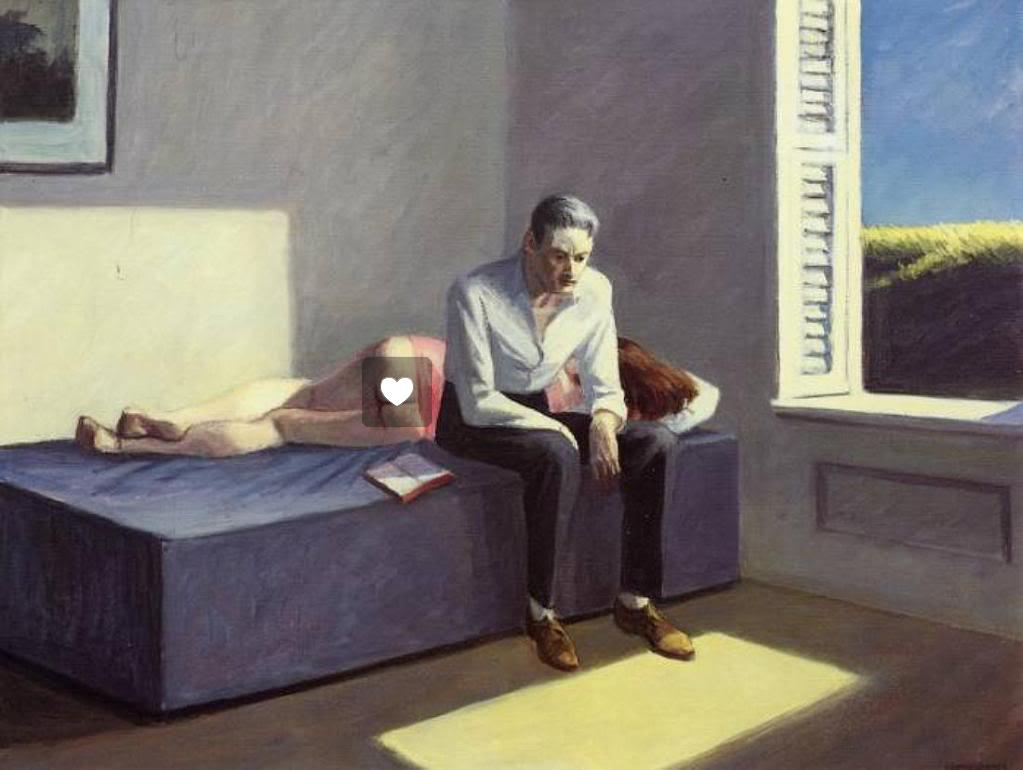 Edward Hopper's Excursion into Philosophy (1959).