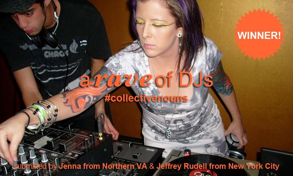 A rave of DJs