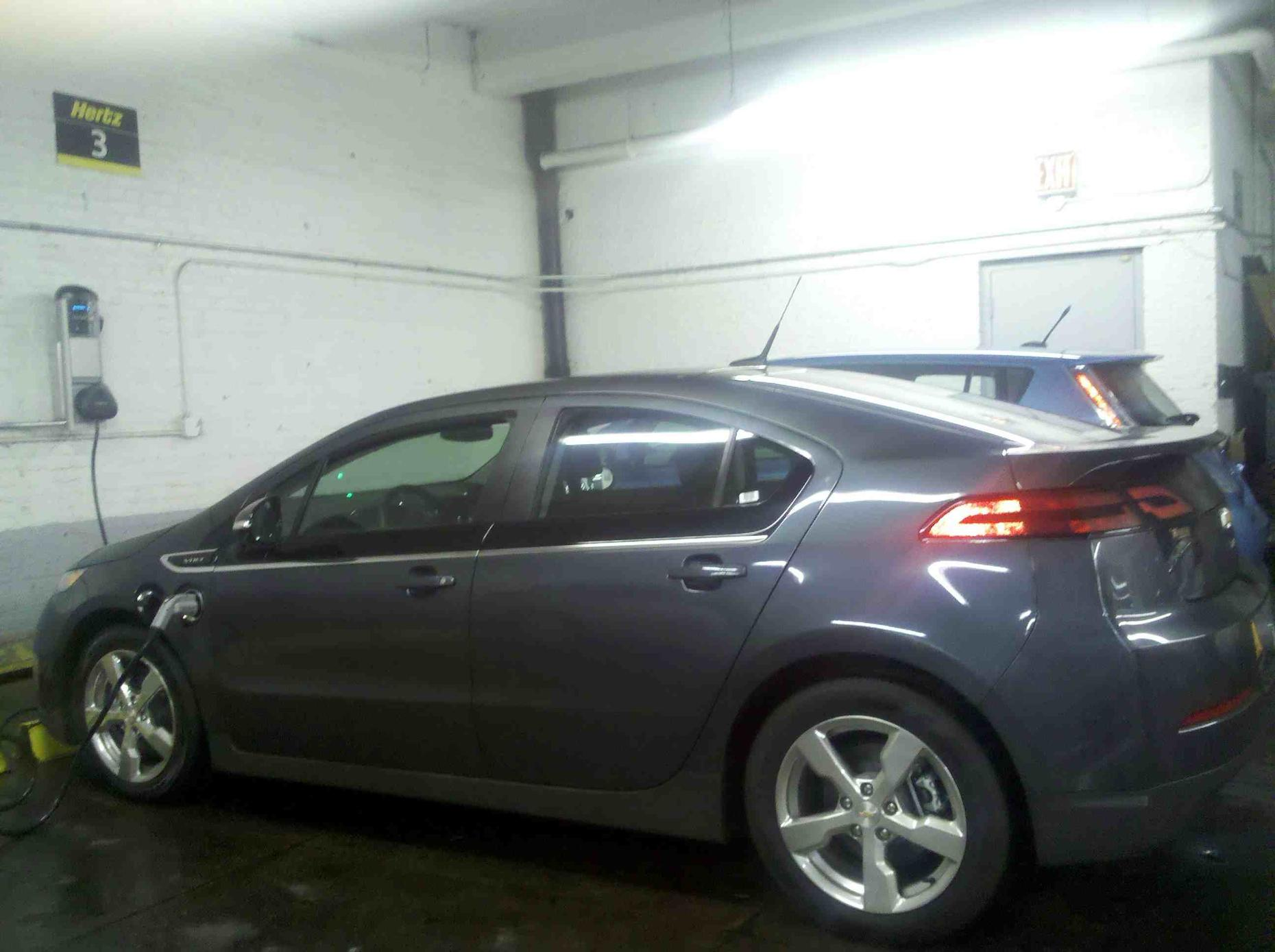 chevy volt for rent at east 64th street in manhattan photo hertz