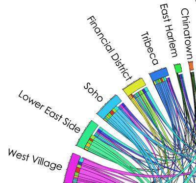 Taxi Data Wheel