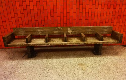 Buy Your Own Authentic Wooden Subway Benches - WNYC