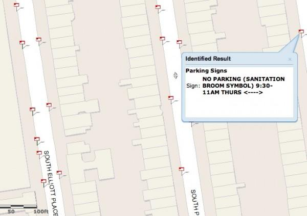 new york city parking rules now on an online map transportation