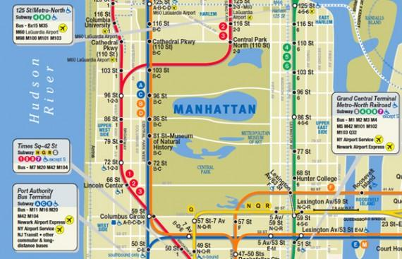 Vignelli Designer of Famous Subway Map Defends His Version Over – Subway Map in New York