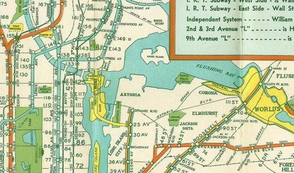 Subway Map 2012