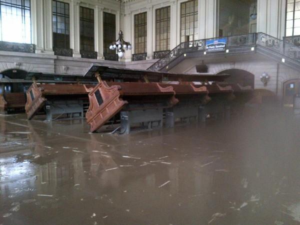 Hoboken Sandy Flooding Hoboken Terminal Post-sandy