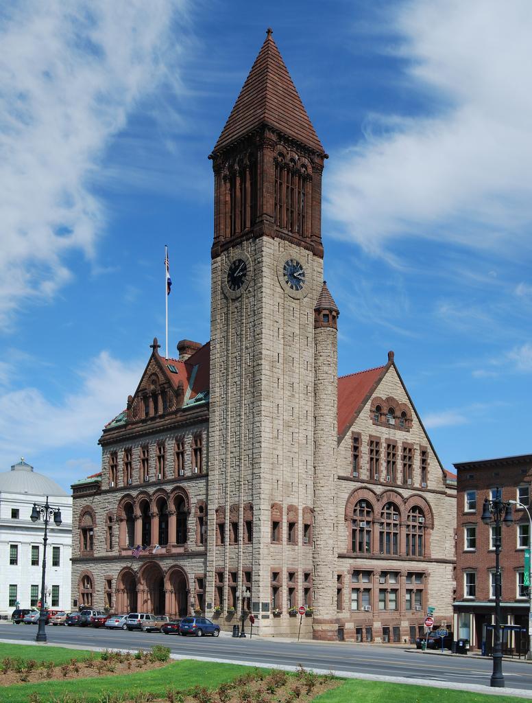 City Hall of Albany, New York