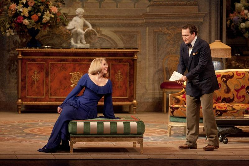 Russell Braun and Renée Fleming as Olivier and the Countess in Strauss's <em>Capriccio</em>