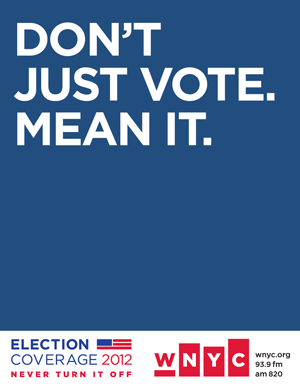 Don't Just Vote Mean It