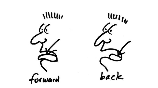 Foward vowels vs. Back vowels