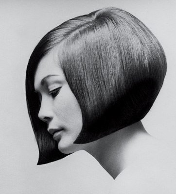Vidal's classic 'Nancy Kwan' cut. Photo by Terence Donavan