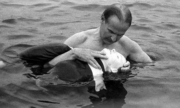 Asmund Laerdal with Resusci Anne