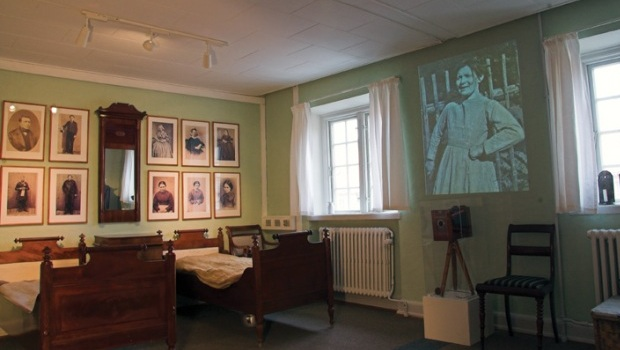 Patient room in Ovartaci Museum